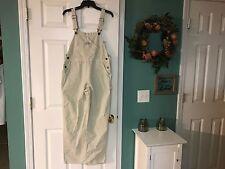 Carter's Watch The Wear Women's Bib Overalls Size Small Beige