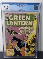 Green Lantern #15 CGC 4.5   DC 1962   Early Sinestro App