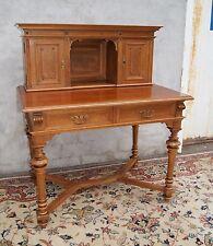 *+ Kleiner Damen Schreibtisch Sekretär Gründerzeit Nussbaum +*