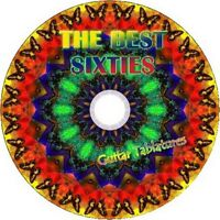 60s 60's GUITAR TAB CD TABLATURE SONG BOOK GREATEST HITS BEST OF MUSIC AUDIO