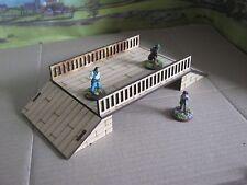 28mm Wooden Bridge ideal Cowboys Western WW2 WW1 Modern Scenery 3mm MDF