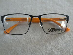 Superdry osamu glasses frames. Blue / brown / orange. New.