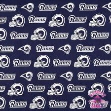 Los Angeles Rams NFL Cotton Fabric 14760 D