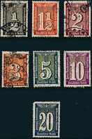 Lot Stamp Germany Poland Revenue WWII 3rd Reich Court Document Fee Used 1