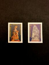 Hungary Scott No. 2714-5 MNH Imperforate Imperf Imp Christmas 1981 Cats $ 10