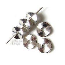 25 Intercalaires spacer caps diamètre 9mm Perles apprêts création bijoux _ A240