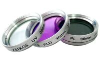 30mm 3PC Filter Kit UV FLD PL for Sony Handycam Camcorder HDR / DCR Series