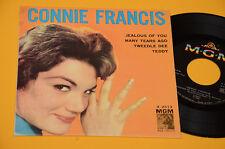 """7"""" 45 ( NO LP ) CONNIE FRANCIS EP 4 CANZONI 1° ST ORIG 1960 EX TOP COLLECTORS"""