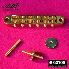 CHEVALET GOTOH GE103B Vintage  4M /  4,5mm Tune-O-Matic GIBSON LP SG Bridge GOLD