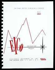 EICO 1064 Low Ripple Battery Eliminator and Charger Instruction Manual