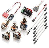EMG- Solderless wiring kit for 1 or 2 pickups w/push pull pot