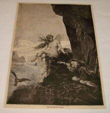 1883 Revue Gravure ~ The Mountain Sprite