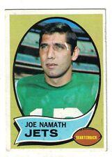 1970 Topps Football Card #150 Joe Namath New York Jets ~ EX/MT