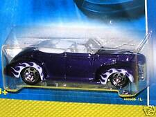 2008 Hot Wheels All Stars '40 Ford Convertible~~ Purple