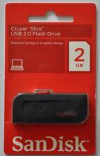 SanDisk Cruizer Slice USB-Speicherstick 2GB NEU und Originalverpackt !!!