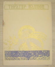 MUSIC HALL PROGRAMME THEATRE DAUNOU REVUE PAR LE TEMPS QUI COURT RIP 1930