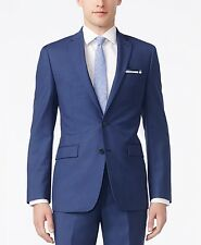 BAR III $600 NEW Mens 2715 100% Wool X-Slim Fit 2PC Suit 46L 40W 30L