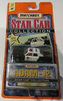 ADAM - 12. ~ GRAND FURY POLICE CAR - 1998 Matchbox Star Car Series ~ SOFT CORNER
