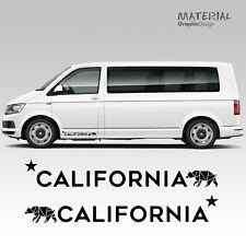 VOLKSWAGEN VW TRANSPORTER Decalcomania righe laterali T4 T5 T6 California Veicolo grafica
