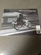 BMW 2006 Motorrad USA Factory Accessories MSRP Price List Catalog 23 Pages