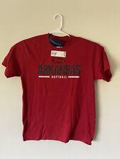 NWT Mens Large L LG Red Arkansas Razorbacks Softball Tshirt Tee Shirt T-shirt