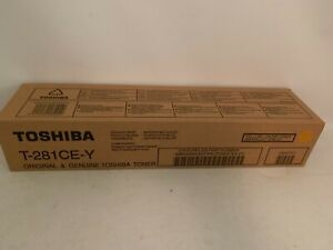 Toshiba Toner T-281CE-Y gelb yellow für e-Studio 281C 351C 451C