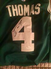 Isaiah Thomas Signed Autographed Boston Celtics Jersey NBA JSA