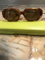 EUC Eyebobs Dairy Air Polarized 100% UV Protection Yellow Tortoise Sunglasses