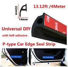 Car Door Rubber Seal Strip P-type Trim Edge Sealing 157'' 4m Truck Van Trim New