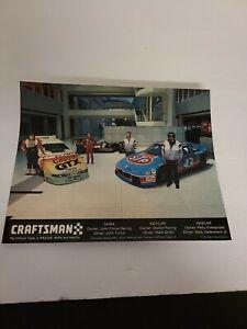 Vintage 1994 8 x 10 Color Photo Craftsman Racing NHRA INDY CAR NASCAR Unframed