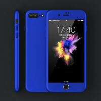 Shockproof 0.7mm Hard Slim cover armor for iphone 7 plus 360 case 5 6 6S Plus