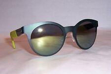 NEW Carrera Sunglasses 5012/S 8HW-QU GREEN/YELLOW MIRROR AUTHENTIC