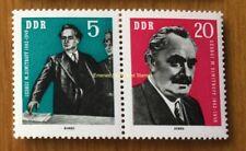 EBS East Germany DDR 1962 Georgi Dimitrov se-tenant Zusammendruck Mi.WZd28 MNH**