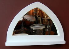 Handmade Wooden Decorative Mirrors with Shelf