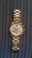 Mens Michael Kors Gold Watch
