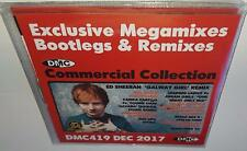 DMC COMMERCIAL COLLECTION 419 DECEMBER 2017 BRAND NEW 3CD DJ REMIX SERVICE