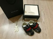 100% AUTHENTIC Gucci baby sneakers size EUR 19 (US 3,5, UK 3)