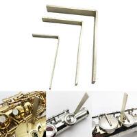 3 Stück Saxophon Flöte Klarinette Key L-Form Reparaturwerkzeuge Set