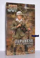 Elite Force WWII Japanese Army Office Saburo Nakagawa Fully Articulated 1:6