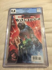 Justice League 41 CGC 9.8 Rare Second 2nd Print Grail Darkseid War Awesome!!!