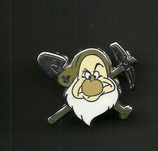 Snow White & Seven Dwarfs Grumpy Pick Axe & Shovel Splendid Walt Disney Pin