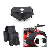 Gas Tank Saddlebag For ATV UTV Dirtbike Motorcycles Luggage Storage Saddle Bag