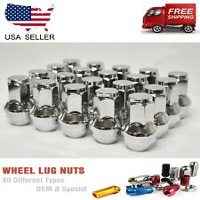 24PC 14X2 CHROME FORD F-150 EXPEDITION OEM/FACTORY STYLE REPLACEMENT LUG NUTS