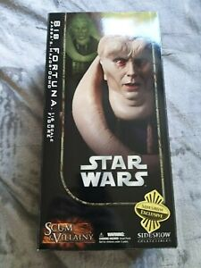 Sideshow Collectibles Star Wars Bib Fortuna Exclusive Edition 1/6 Figure