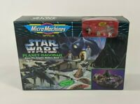 Vintage 1994 Micro Machines Star Wars Planet Dagobah Playset Skywalker Yoda