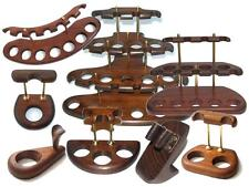 Gravé Reposer pipe Wooden Smoking Pipe Stand Rack Holder Accessories Handmade