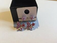 Butterfly design Earings or Piercings 6mm Surgical steel