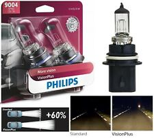 Philips VIsion Plus 60% 9004 HB1 65/45W Two Bulbs Headlight Dual Beam Replace OE
