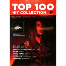 TOP 100 HIT COLLECTION Nr.81 Songbook NOTEN Billie Elish, Ed Sheeran - MF2081