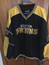 Boston Bruins Mens Large NWT jacket jersey side zip